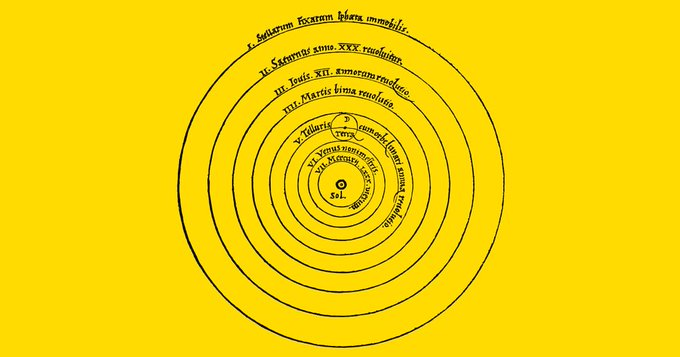 Copernicus was born on this day in 1473. His heliocentric universe is one of 100 diagrams that changed our world https://t.co/qbYDOhbITl