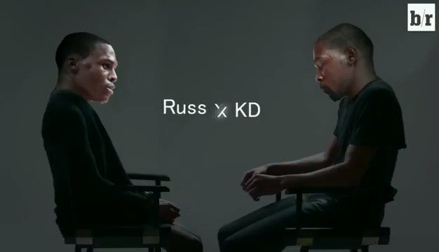 KD and Russ seem to have found closure #HurtBae