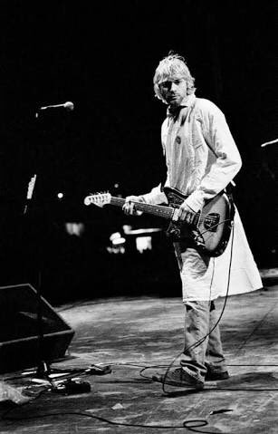 Happy 50th birthday Kurt cobain.