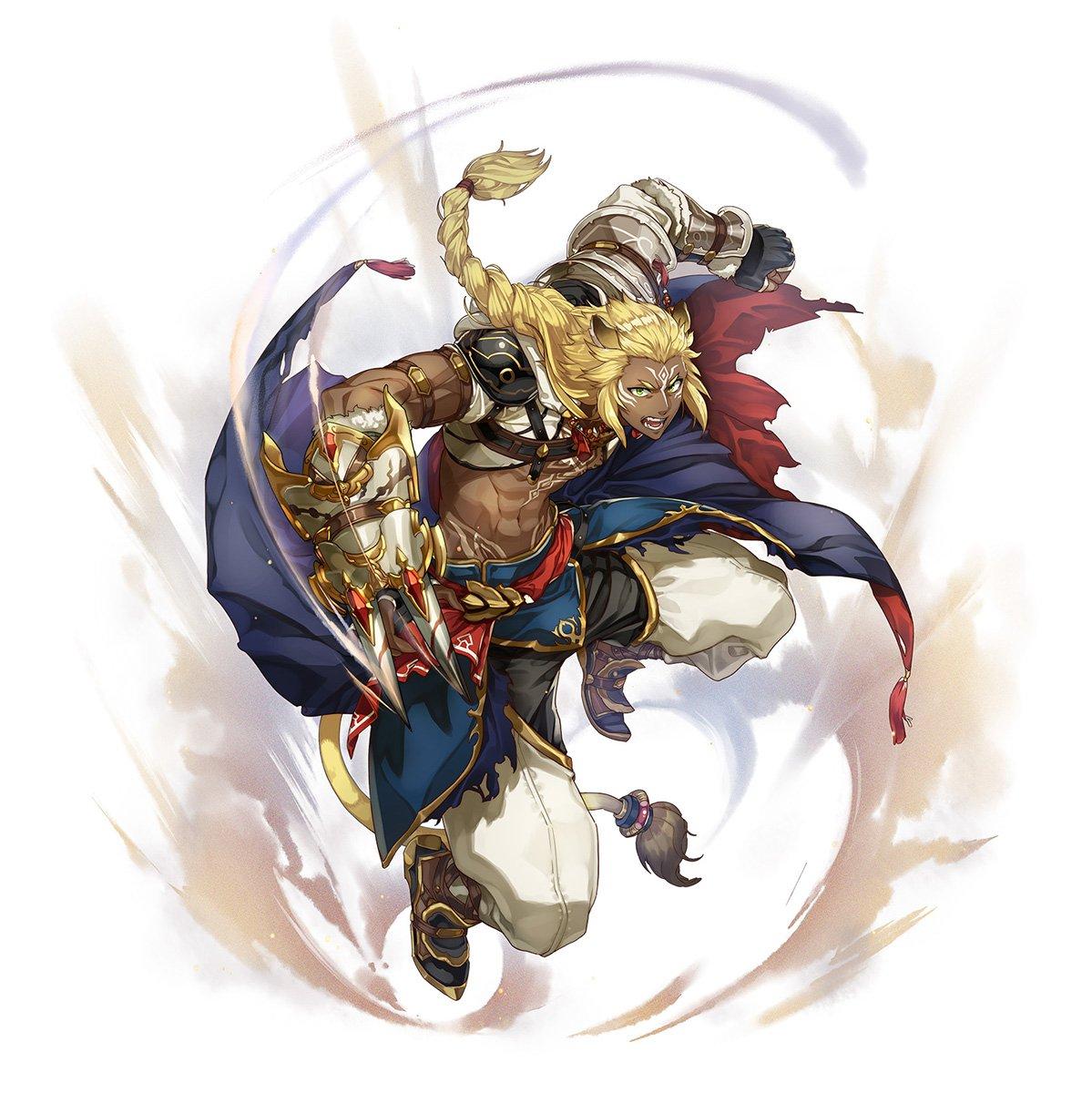 【新SSR「タイガ」登場!!】本日2/20 17:00より開催中のガチャに3人の新キャラクターが追加されました✧[SSR