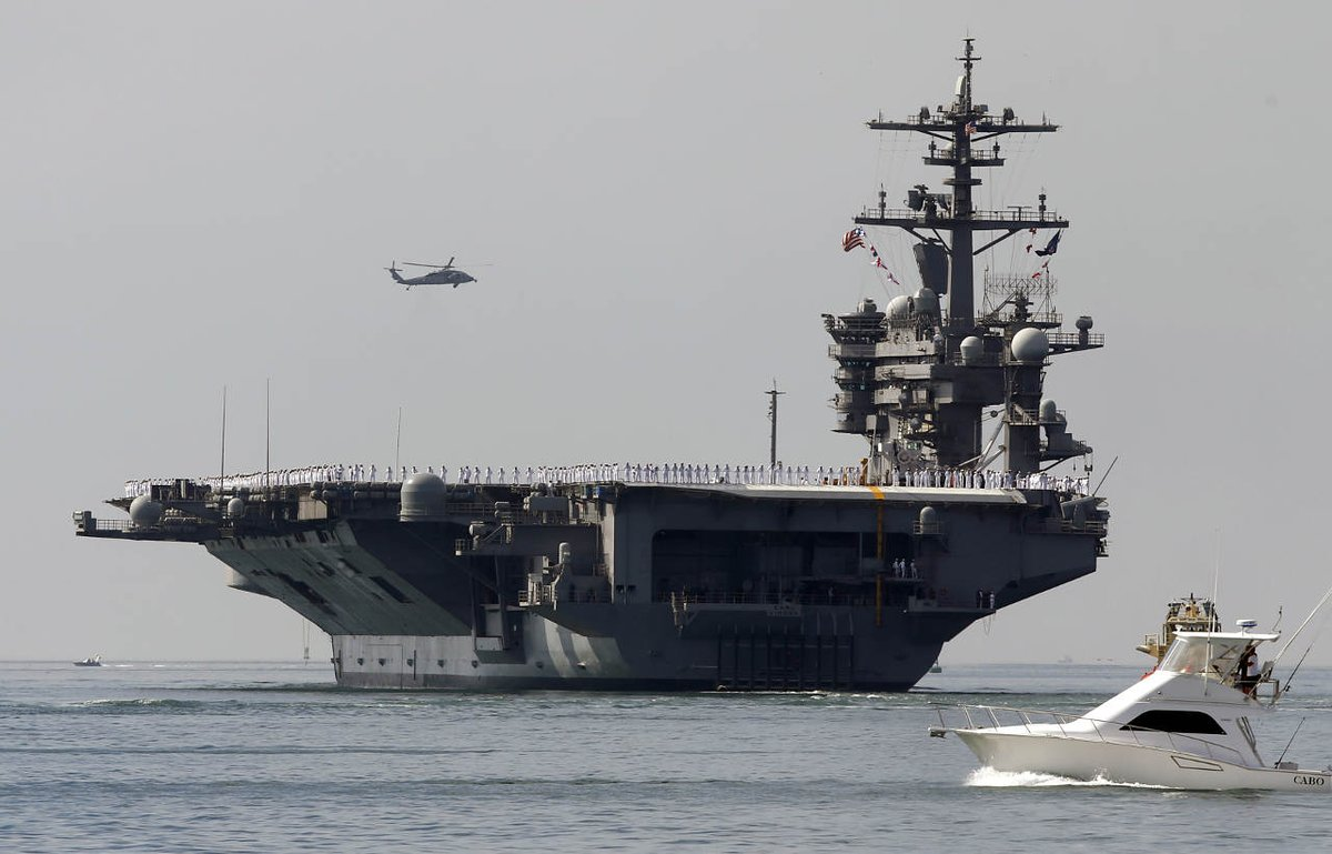 US Navy sends warships on freedom of navigation operation through South China Sea