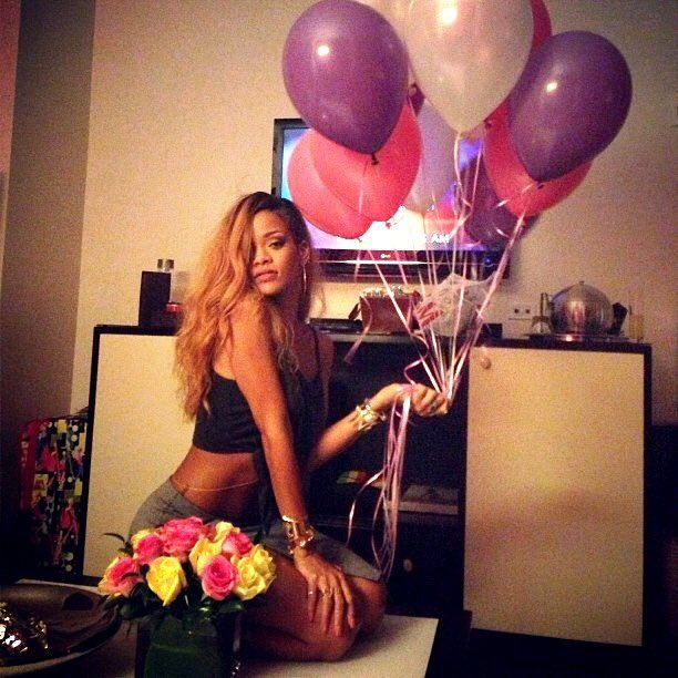 Rihanna, we love you . Happy Birthday