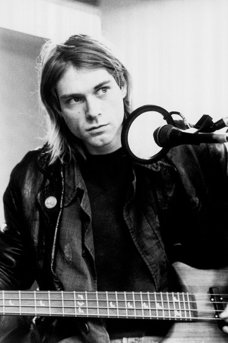 Happy bday Kurt cobain ily