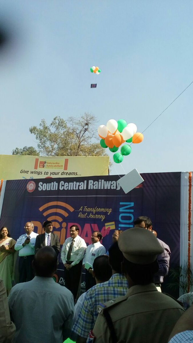 #Hyderabad Kachiguda Railway Station becomes first #DigiPay station in the South Central #Railway .