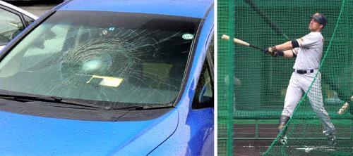 【 #巨人 】ギャレットが報道陣の車破壊!推定165メートル場外弾 https://t.co/Yb7iQWFNXD #kyojin #giants  #npb #プロ野球  #kyojin #giants #巨人