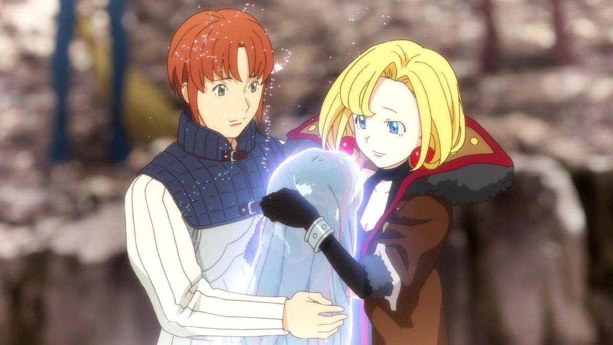 純潔のマリアではマリア(金元寿子)とジョセフ(小野賢章)が結婚してエゼキエル(花澤香菜)が子供として転生する(予定)