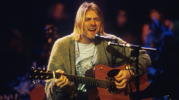 Happy Birthday to Kurt Cobain, who would have turned 50 today!