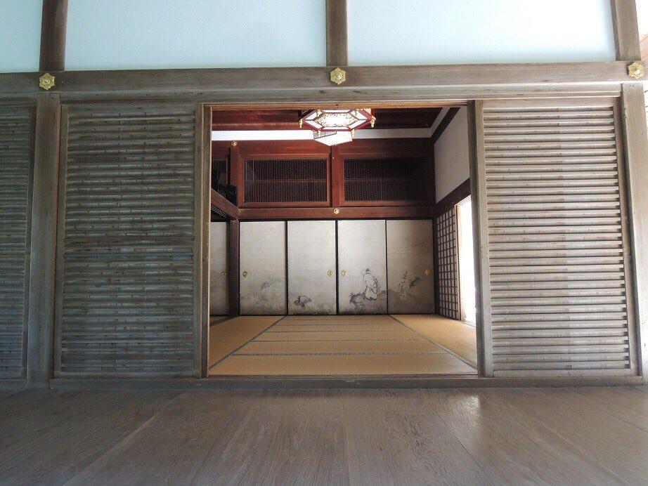 【京だより】ここは南禅寺境内の「南禅院」というところで、南禅寺発祥の地なんだそうです。なんとも趣のある庭を見ていると時間