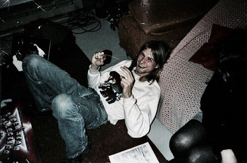 Gone but never forgotten, happy birthday Kurt Cobain you are defiantly missed
