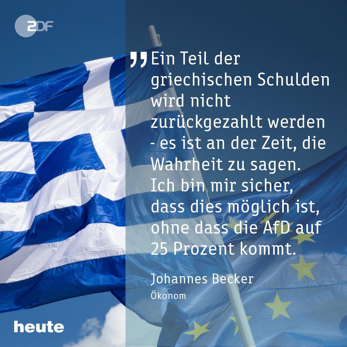 Heute geht's in Brüssel um #Griechenland: Ökonom @YohannesBecker wirft Athen vor, sich Reformen zu verweigern. https://t.co/giWrsNd1rq