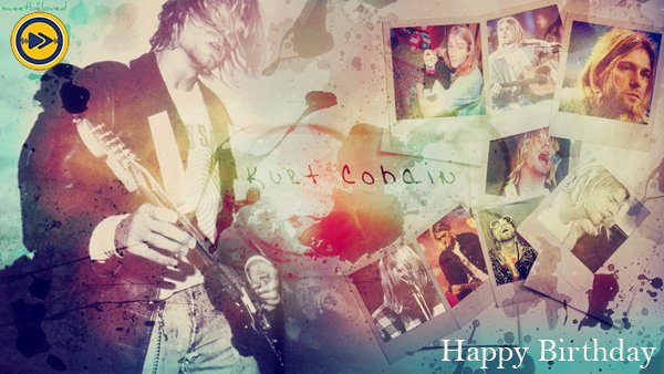Happy Birthday to Kurt Cobain!
