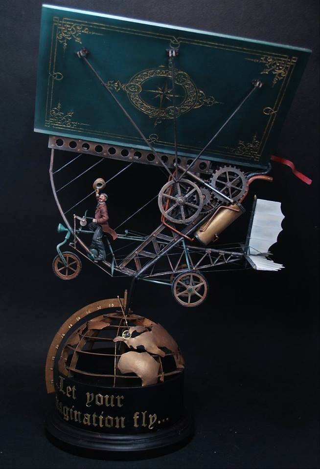"""""""Let your imagination fly"""" Full scratch build 1/32  by Mamais Stathis"""