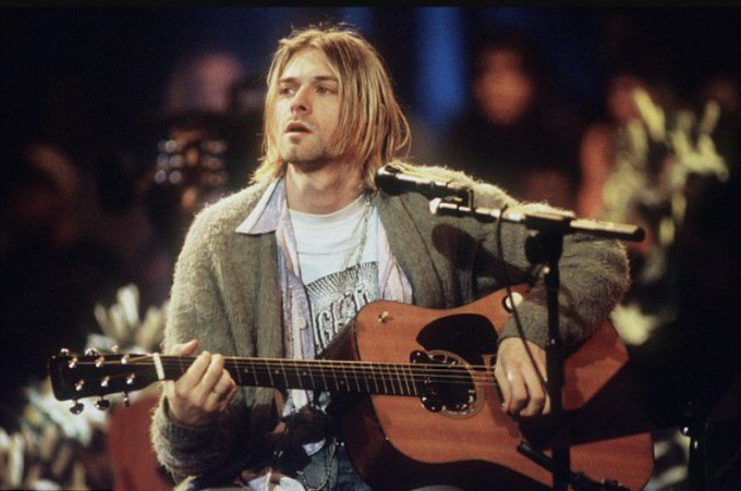 Happy 50th birthday Kurt Cobain