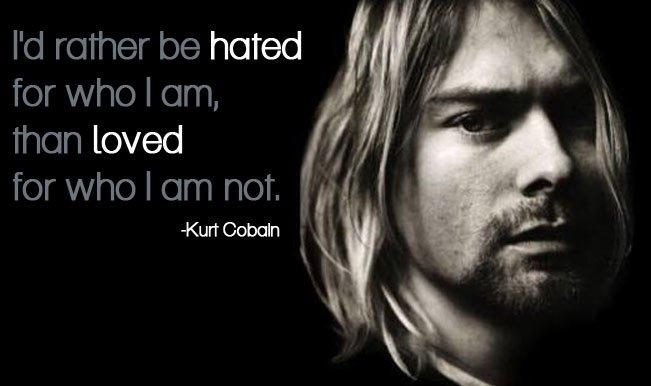 Heros get remembered, but legends never die. Happy Birthday Kurt Cobain!