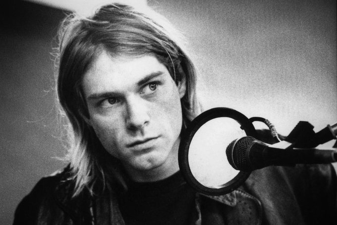 Happy birthday Kurt Cobain today would of been his 50th birthday.