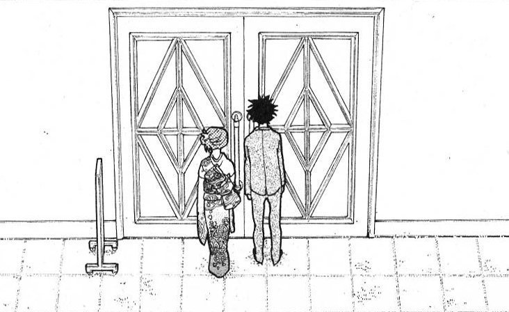 『聲の形』よりこの扉の向こうにあるのは きっと辛い過去だ でももう一つある 可能性だ それはいつだって開くことができる