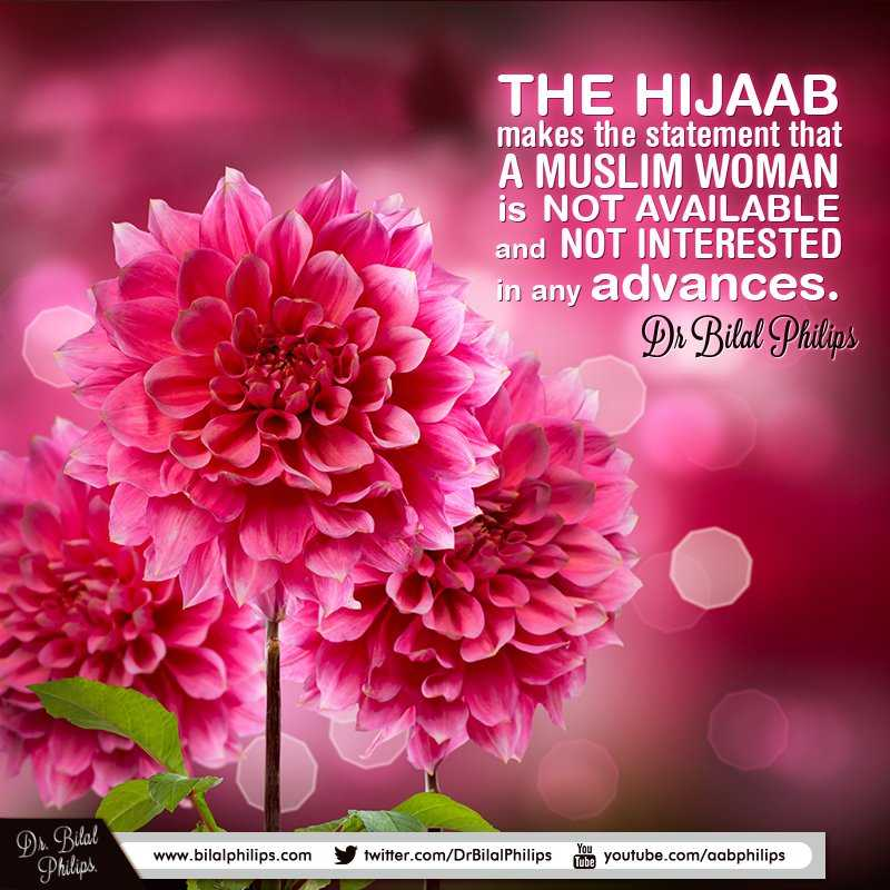 RT @DrBilalPhilips: The women in our life are our queens. Treat them like that. #Islam #women #Muslims #life https://t.co/9MTCL2UYgj