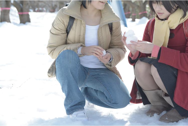 [僕だけがいない街]藤沼悟:青沼雛月加代:みゐ()撮影:深沢まゆこ