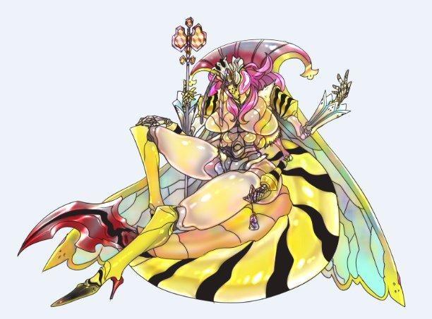 女王蜂モン娘