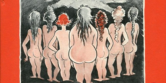 The Seven Lady Godivas – Dr. Seuss's little-known, body-positive 'adult' book of nudes https://t.co/jIFznHNZcD