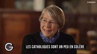 'Je regrette que les catholiques soient confisqués par les identitaires'. - Anne Soupa au #GrosJournal