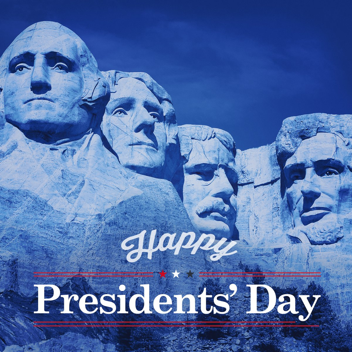 We're blessed to live in a country that honors heritage. Happy Presidents' Day, America!