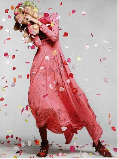 Spring is in the air! Let it rain pink petals for #SpringSummer17. Editorial by @NumeroTOKYO https://t.co/5WVHZ04aue