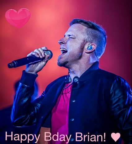 Happy Birthday Brian!!  Wish you all the best!!