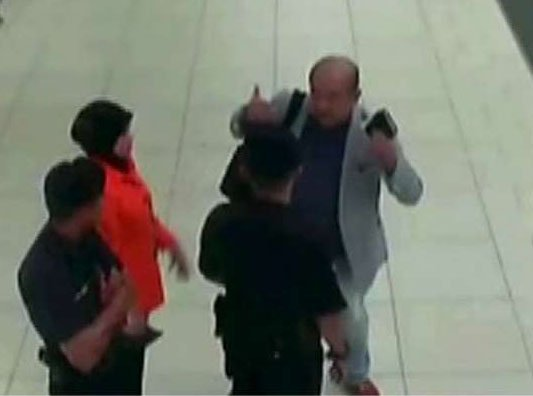WATCH: Leaked Footage Purportedly Shows Kim Jong Nam's Assassination @AmericaNewsroom https://t.co/idWvFZS4MS