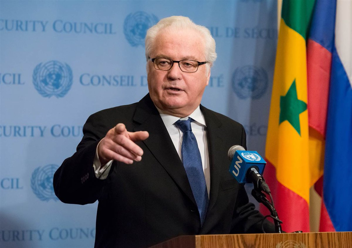 Full story: Russian ambassador to the United Nations Vitaly Churkin dies suddenly