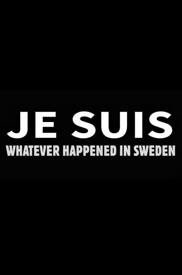 RT @Cecagram: 😂😂#jesuiswhateverhappenedinsweden https://t.co/0xSb6qoT5J