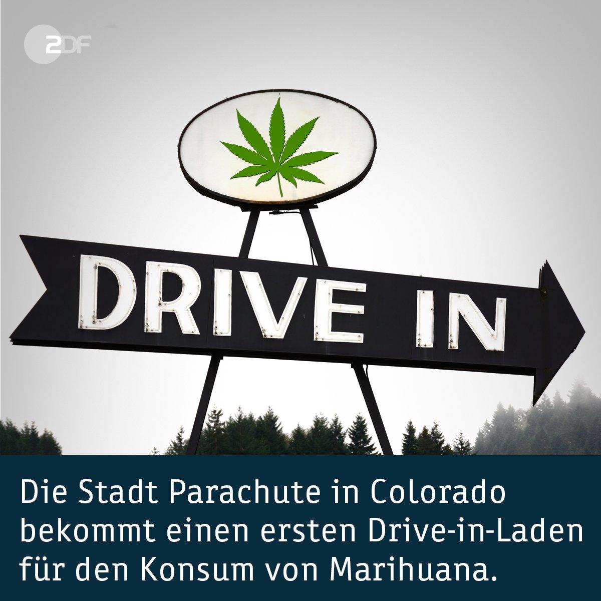 Die Stadt Parachute in #Colorado bekommt einen ersten Drive-in-Laden für den Konsum von #Marihuana.
