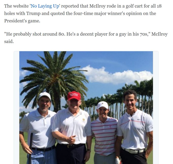 Trump caught lying about how much golf he played, in 3 parts