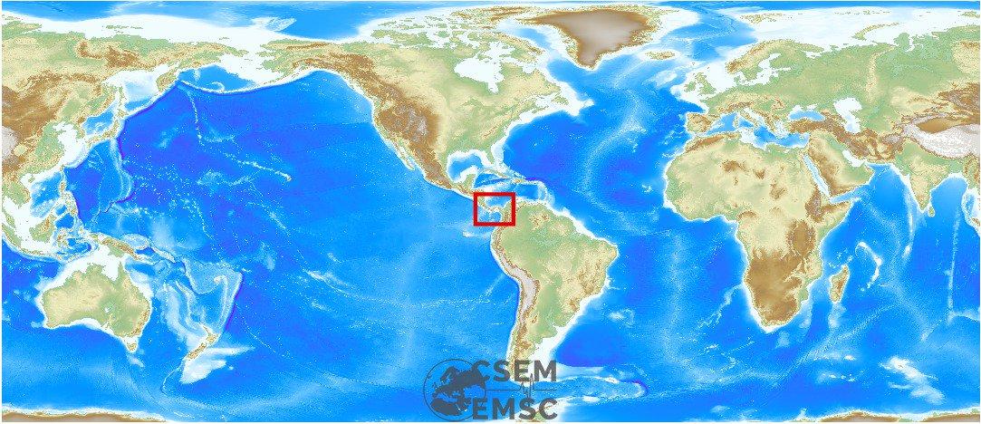#Earthquake (#sismo) possibly felt 2 min ago in #Panama. Felt it? See https://t.co/OSr2jaub9Y
