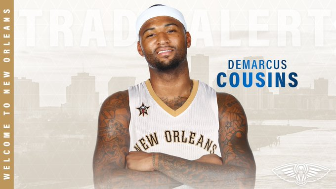 Boogie is coming to New Orleans!  #Pelicans #WinTheNight