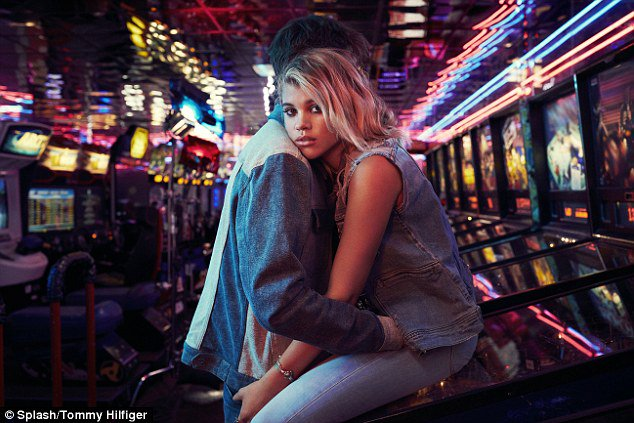 Sofia Richie turns up the heat on Tommy Hilfiger's clean cut image in new campaign https://t.co/jNjWZ1U4Tp