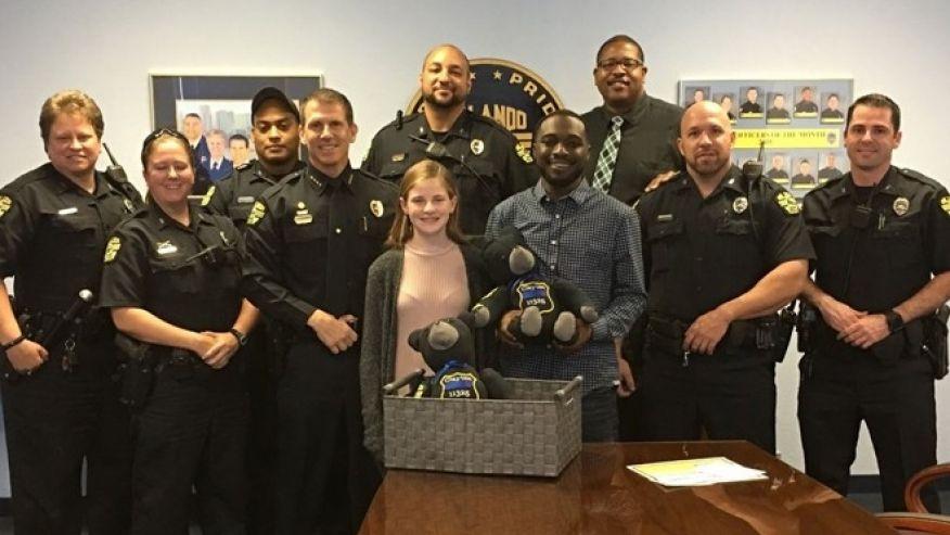 Florida teen makes special teddy bear to honor fallen officer  https://t.co/e3OaCJPylD via @Fox35News