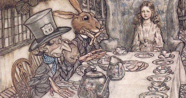 How Arthur Rackham's 1907 drawings revolutionized Alice in Wonderland and the business of book art https://t.co/gETsJT1fWS