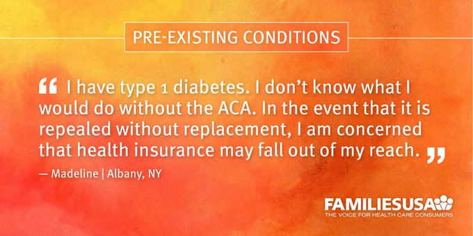 Insurers are banned from discriminating against people with pre-existing conditions under #ACA. https://t.co/tnqKNoIZoY #ProtectOurCare