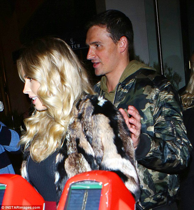 Ryan Lochte takes his pregnant fiancee Kayla Rae Reid out for a romantic dinner https://t.co/wCgwUTZBeg