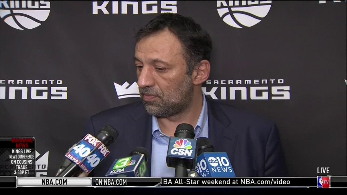.@SacramentoKings VP of Basketball Operations & GM Vlade Divac on changing the culture & moving forward