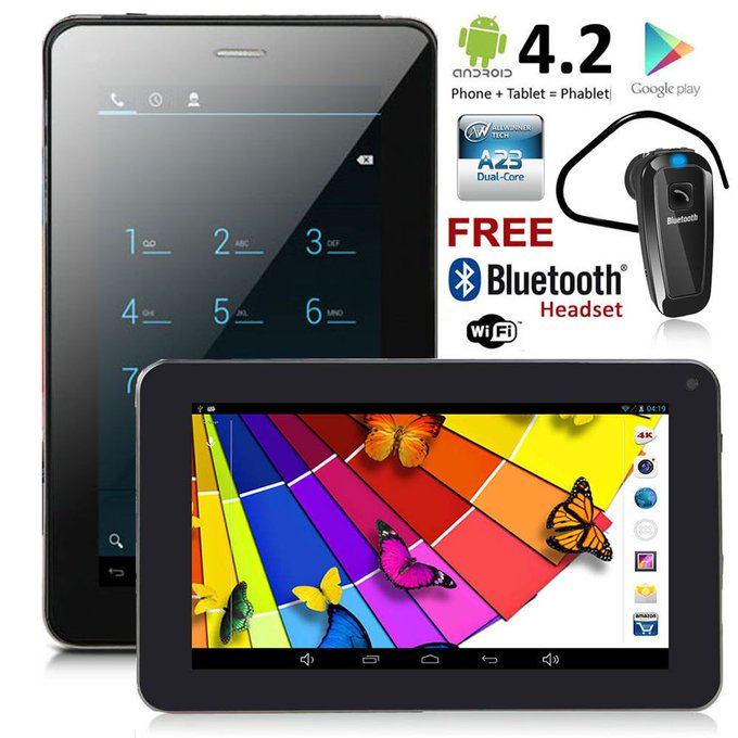 #free #style #iphone #win #giveaway inDigi® 7.0in Unlocked Smart Cell Phone Android 4.2 JB Tablet PC AT #rt