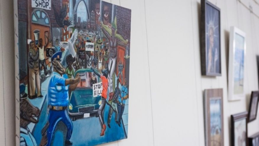 Congressman plans to sue over removal of painting depicting cops as pigs  https://t.co/D9xs0ccpRi