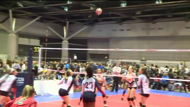America's Center hosts President's Day Classic volleyballtournament
