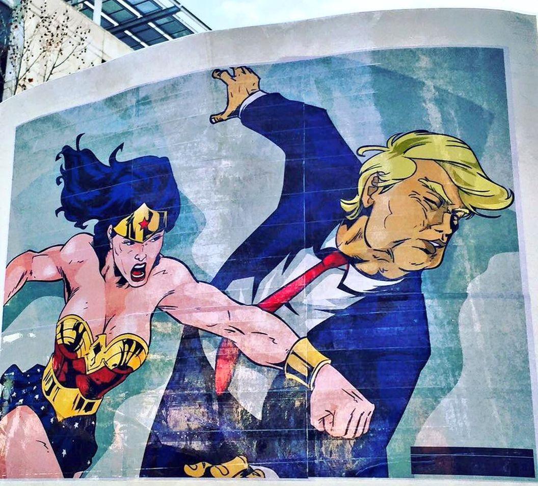 #Spraycan #Trump #PoliticalStreetart in #Philadelphia by an artist not known to me. #TheResistance #Streetart https://t.co/BGHrQWHpzE