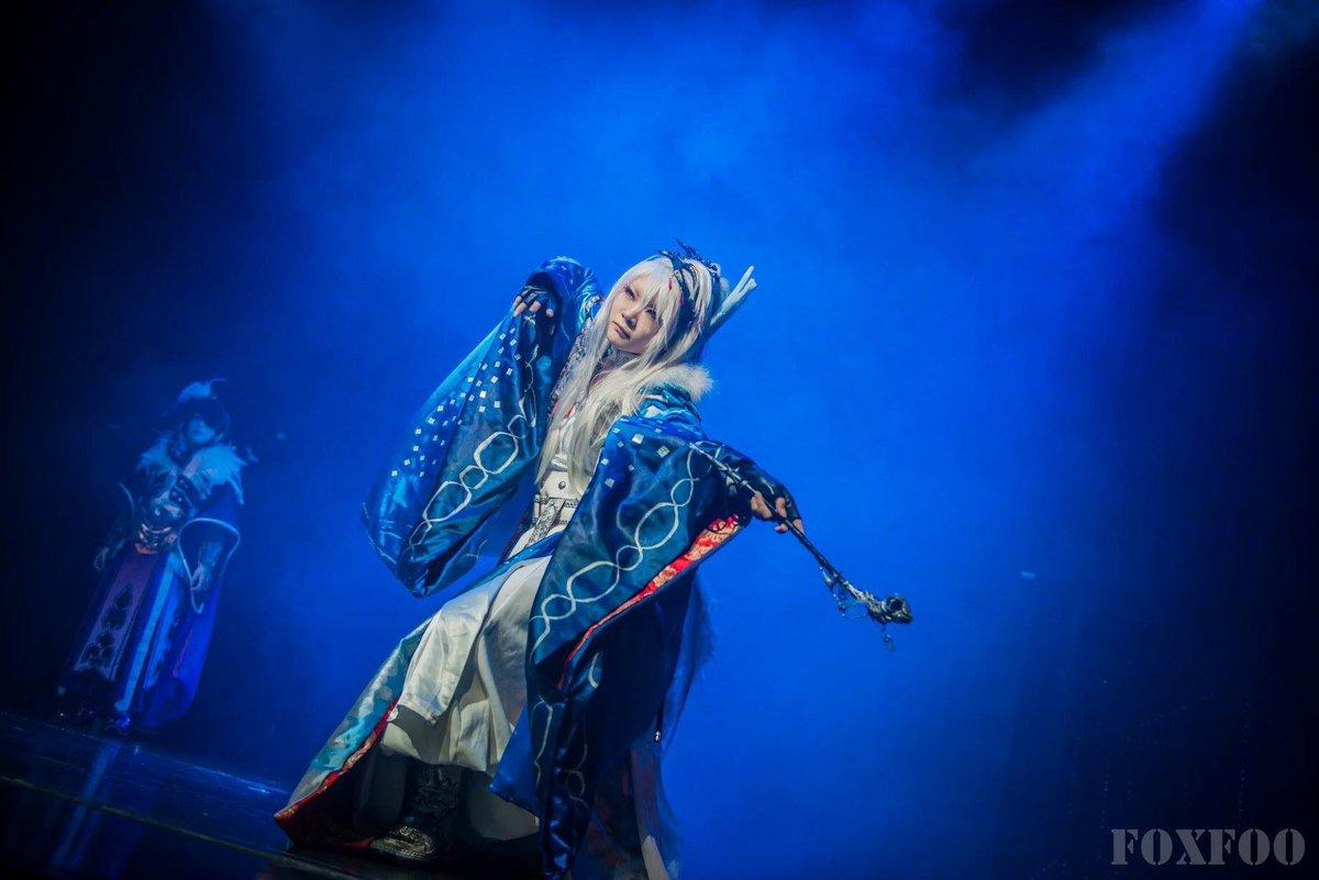 cosfest sea2017でのThunderbolt Fantasyと刀剣乱舞のステージ写真。めちゃくちゃ綺麗な写真
