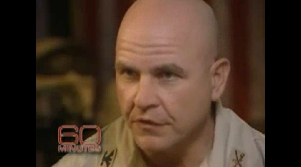 In 2006, @60Minutes interviewed Lt. Gen. H.R. McMaster in the midst of initiative to retake Iraqi town from Al Qaeda https://t.co/kStoseiXu2