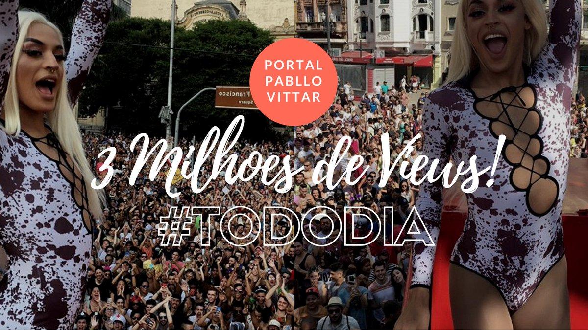 RT @PortalPablloPV: RESSUSCITA!!!!   MAIS UM RECORDE PARA OS VITTARLOVERS! 💥✨ https://t.co/swenf1QBlc