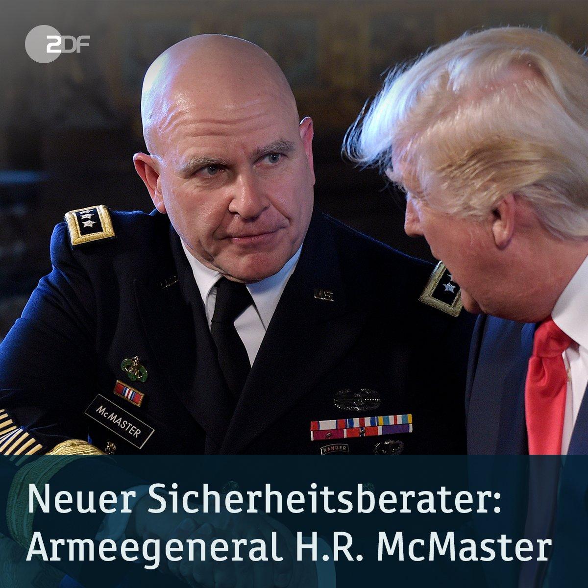 #Trump ernennt Generalleutnant #McMaster zum neuen Nationalen #Sicherheitsberater. Mehr zum Thema: https://t.co/a5Xs0ZbQvv