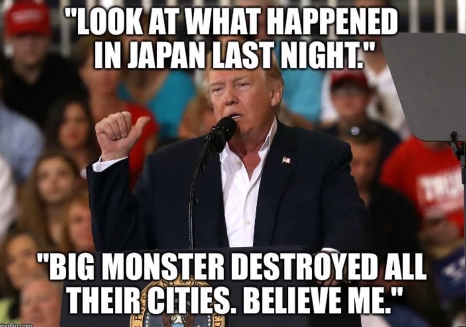 RT @dmelvin3737: Shit... was Godzilla on last night?    @LRBitisnot https://t.co/3FTnDIy1GJ